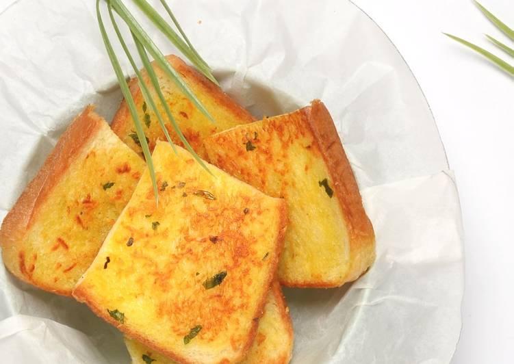 Resep Garlic Bread Ala ala Paling Gampang