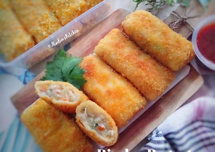 Risoles Ragout Ayam Sayur Keju