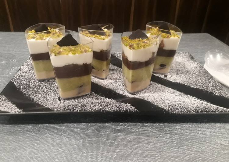 Lookka chhuppi mousse cups