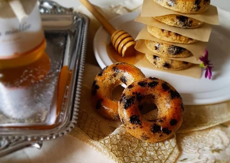 Donuts aux flocons d'avoine allégés cuits au four.🤤
