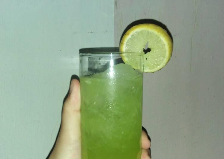 Es Mawut (Timun-Lemon)