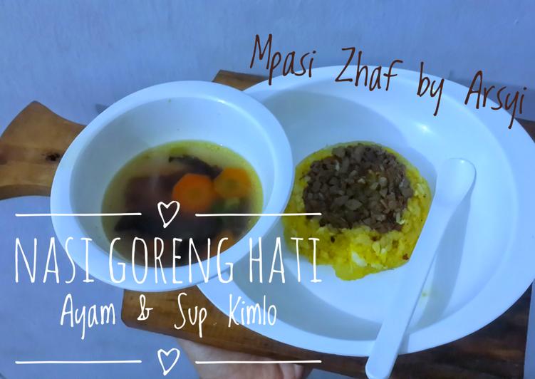 Resep Nasi Goreng Hati Ayam & Sup Kimlo Paling Gampang