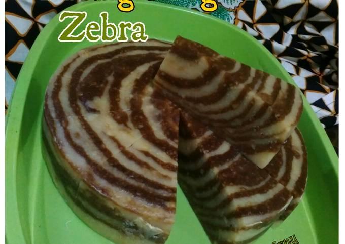 Puding Margarin zebra