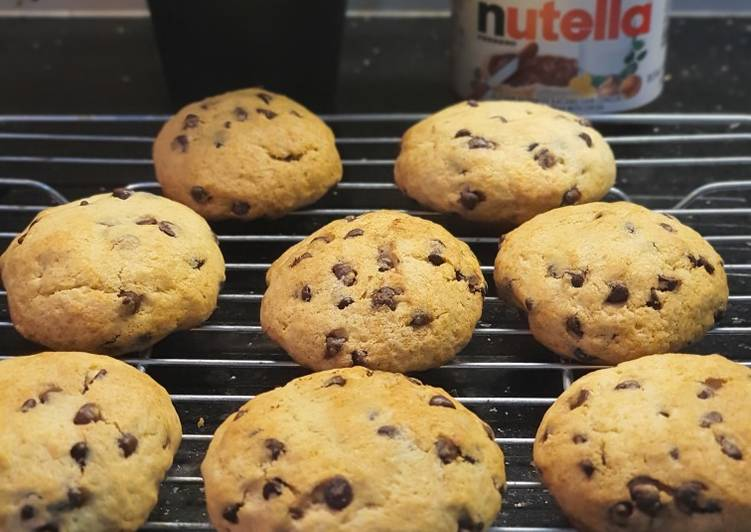 Nutella Chocochips Cookies