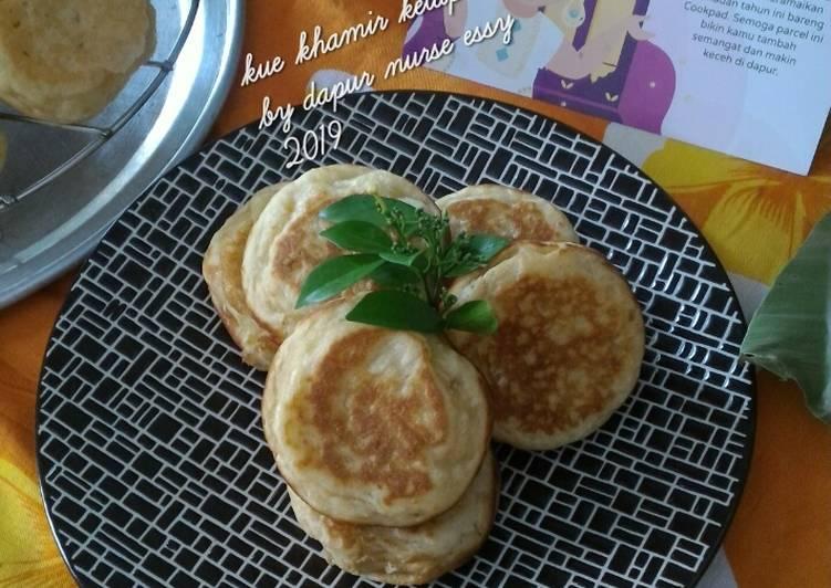 Kue khamir kelapa - cookandrecipe.com