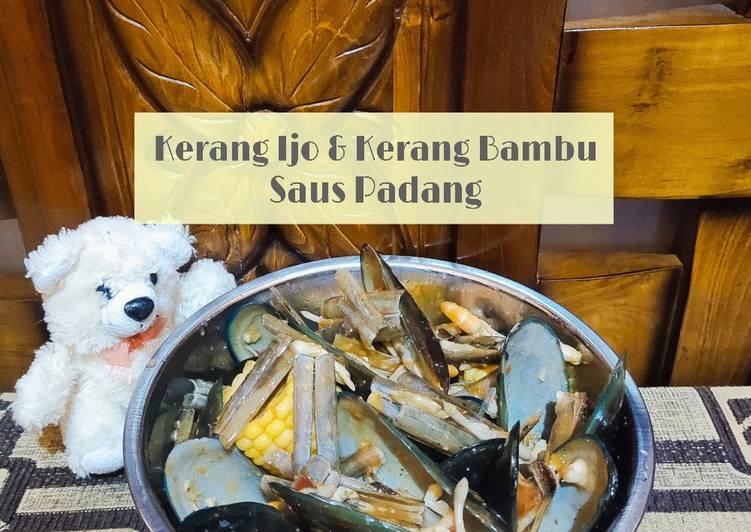 Kerang Bambu & Kerang Hijau Saus Padang