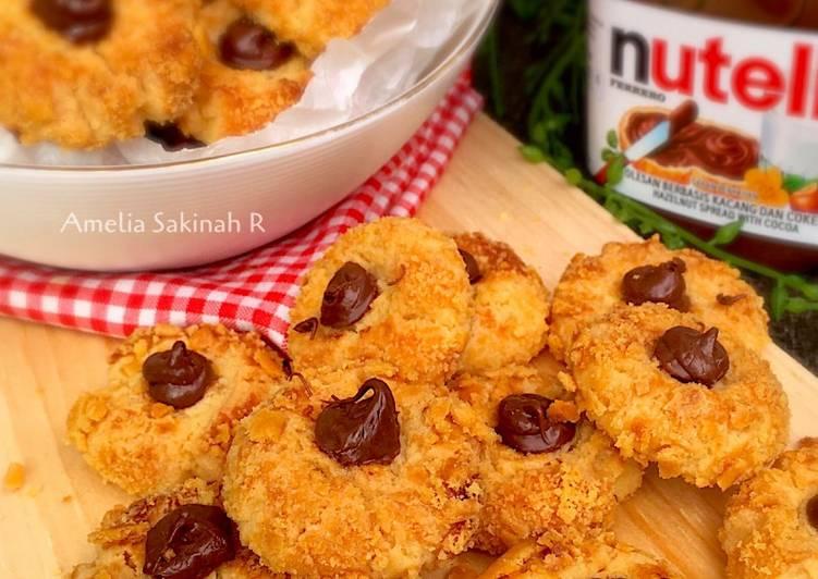 Choco (Nutella) Thumbprint Cookies Renyah banget