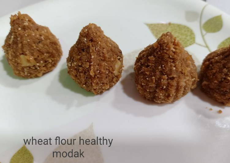 Authentic Wheat Flour Jaggery Modak