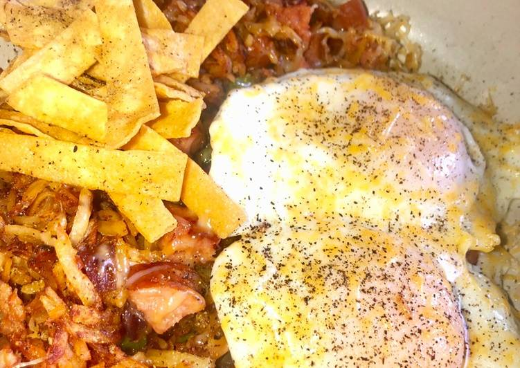 Step-by-Step Guide to Prepare Homemade Southwest skillet breakfast 🍳