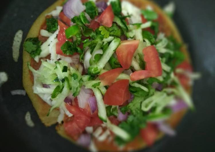 Handwa Pizza Recipe - New Version of Pizza