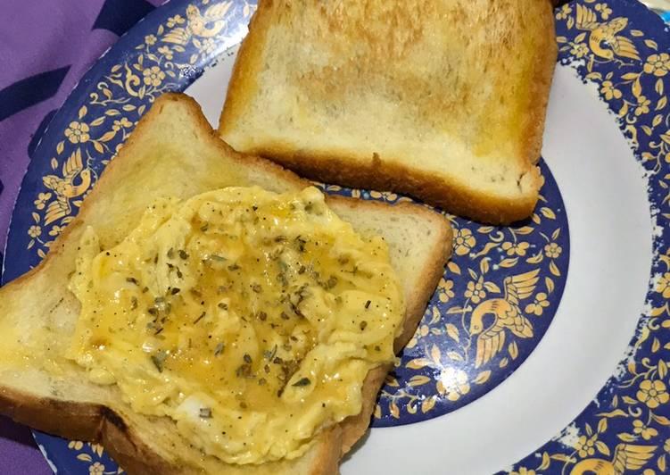 Resep Sarapan Roti Telur Ala Anak Kost Paling Mudah