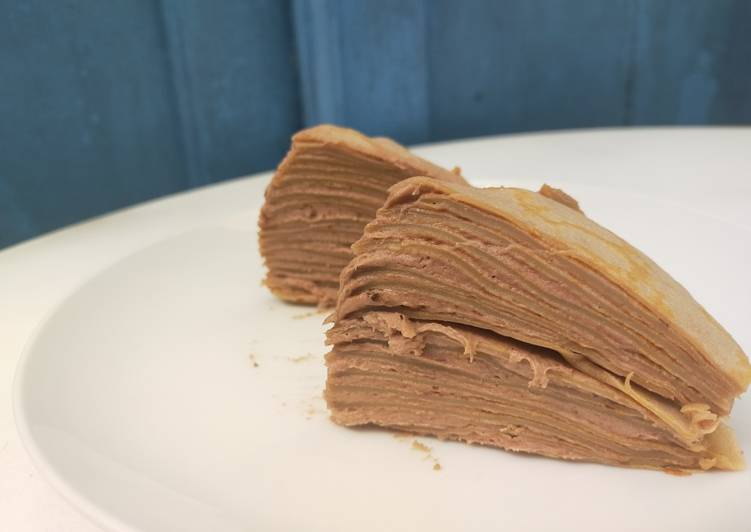 19. Choco mille crepes