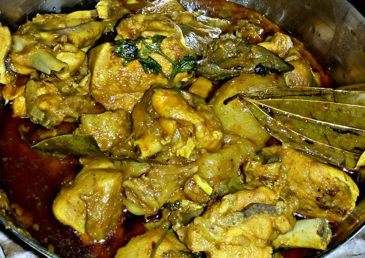 Recipe: Comfortable Bengali Style Chicken Curry