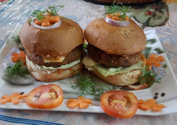 How to Make Perfect McDonald style vegetables aloo tikki burger