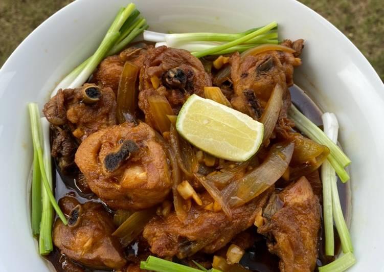 Ayam saus inggris