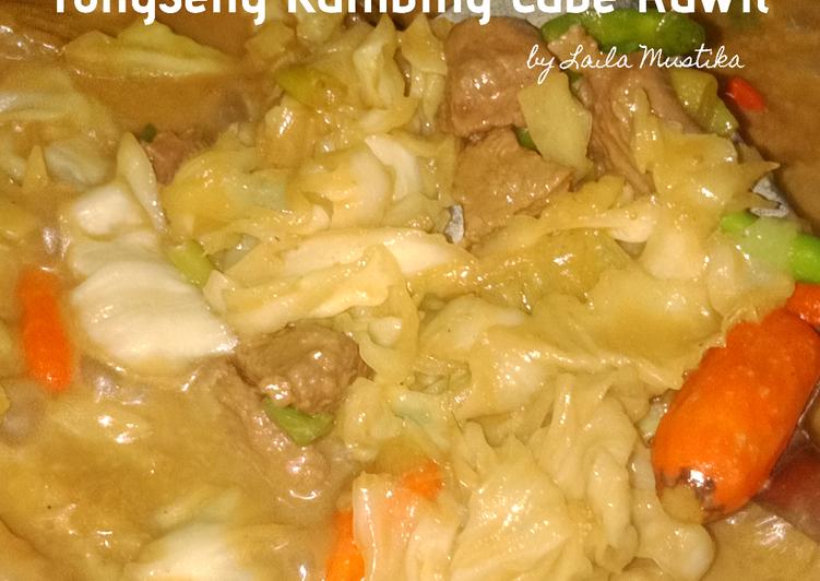 42 - Tongseng Kambing Cabe Rawit