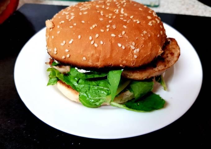 My Mexican Chicken Burger. 😘
