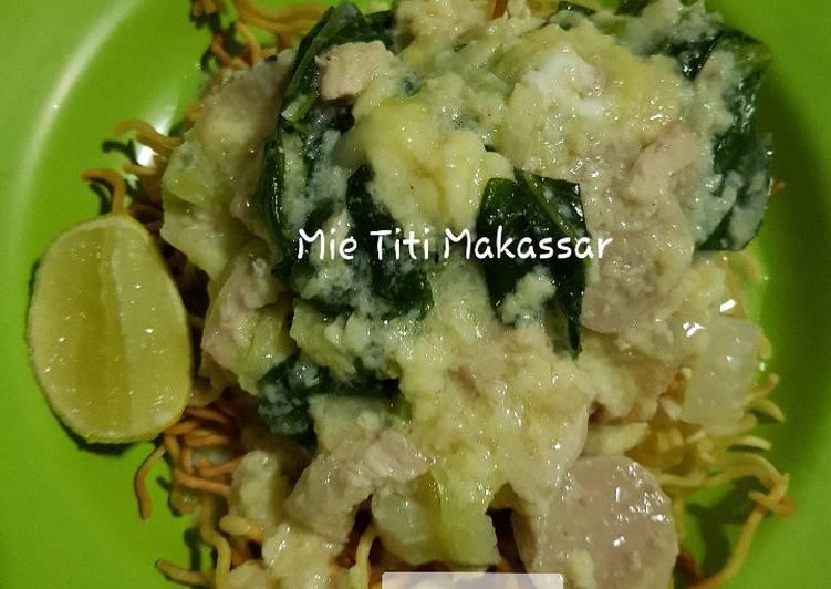 Cara Membuat Mie Titi makassar simple sederhana dan enak