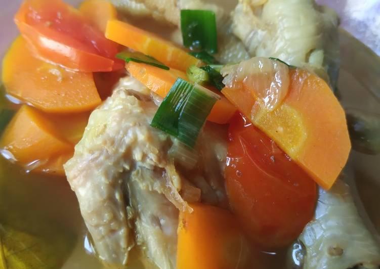 Resep Soto Ayam Bening Instan Anti Gagal