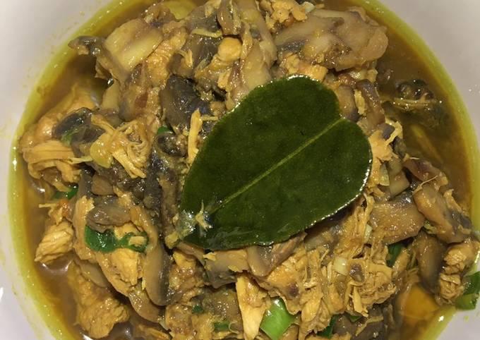 Cara buat Ayam Jamur Untuk Mie Ayam yang nikmat dan Mudah Dibuat