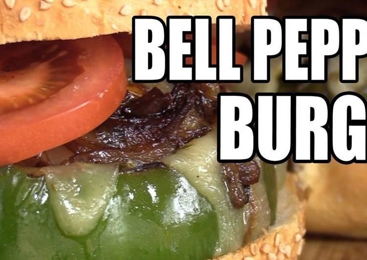 Bell Pepper Burgers