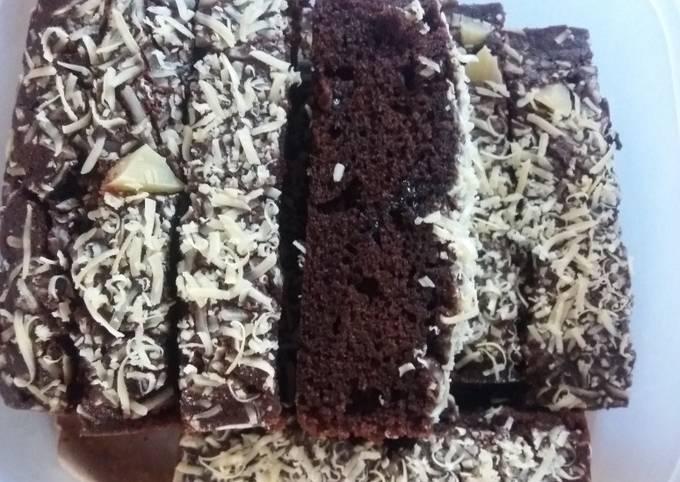 Brownies Keju Panggang