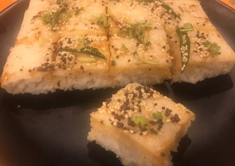 Use Food to Boost Your Mood Farali Dhokla