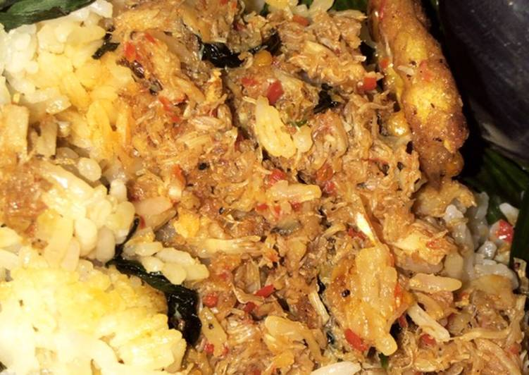Nasi Bakar Kepiting