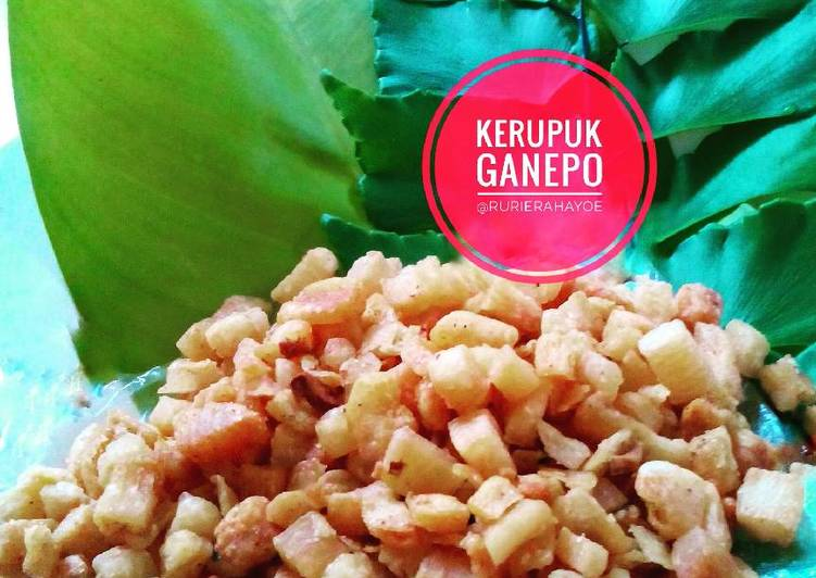 Resep Kerupuk Singkong Ganepo Oleh Rury Rahayu Dee Cookpad
