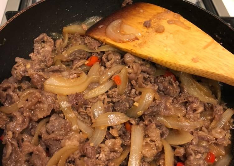 Resep Simple Spicy Beef Teriyaki Ala Anak Kost Aneka Resep Nusantara