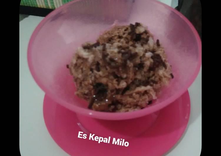 Resep Es Kepal Milo #KamisManis