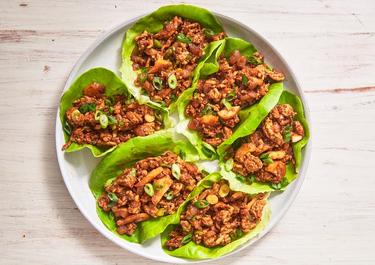 Recipe: Perfect Asian Chicken Lettuce Wraps
