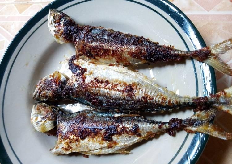 "Ikan panggang teflon ""simpel"""