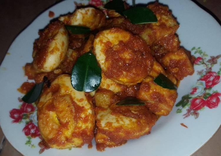 Balado TETAKE (telur tahu kentang)