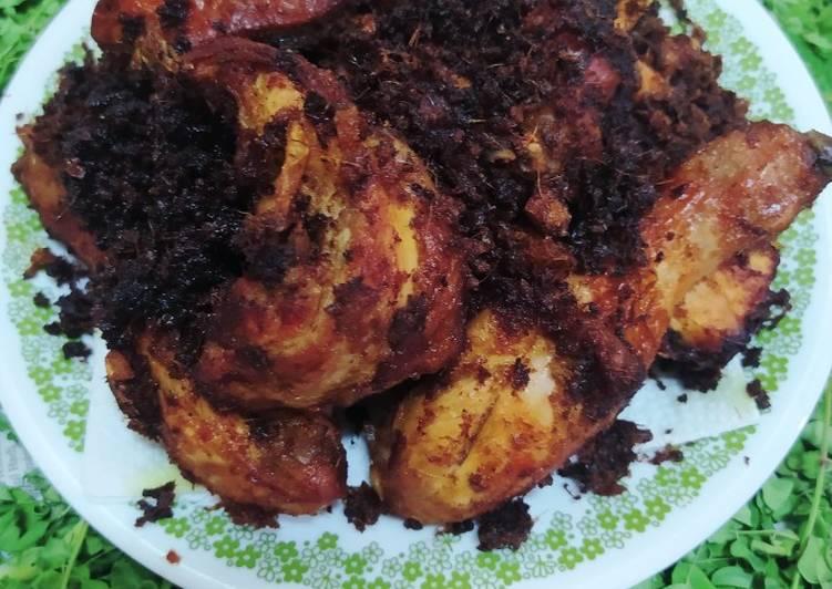 Resepi:  Ayam Goreng Berempah Ala MasterChef Simple