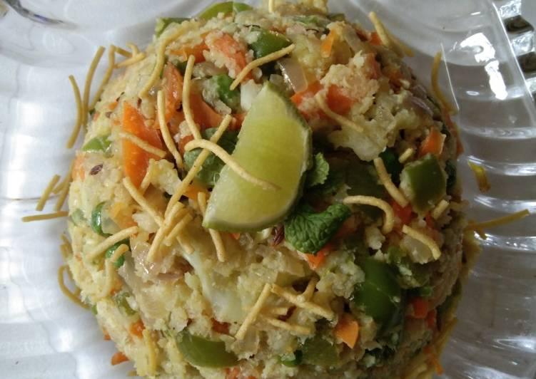 Simple Way to Prepare Speedy Cauliflower upma