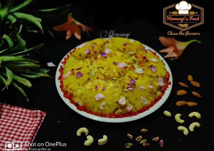 Recipe of Perfect Ananas ka zarda