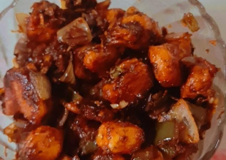 Recipe of Perfect Paneer Chilli