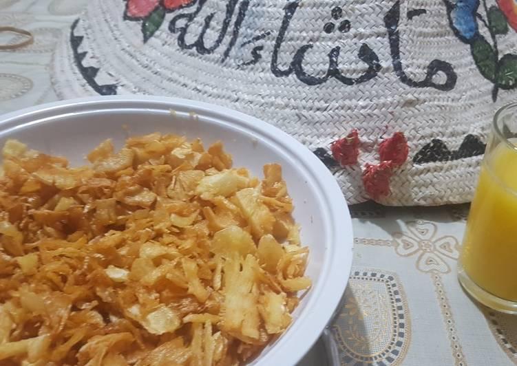 Muhogo crisps snack