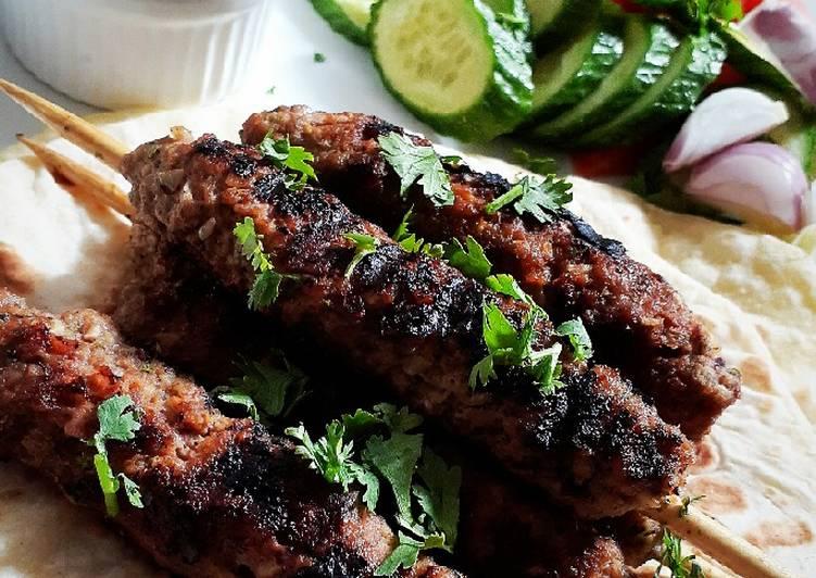 Grilled Kofta Kebab