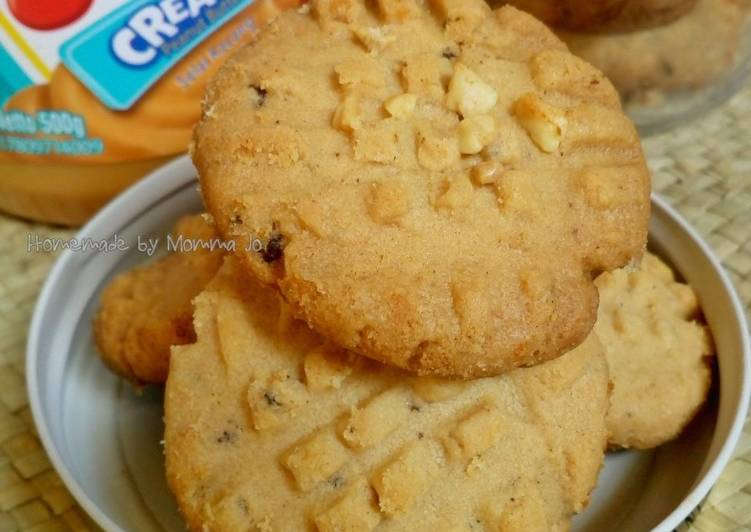Cappuccino Peanut Butter Cookies