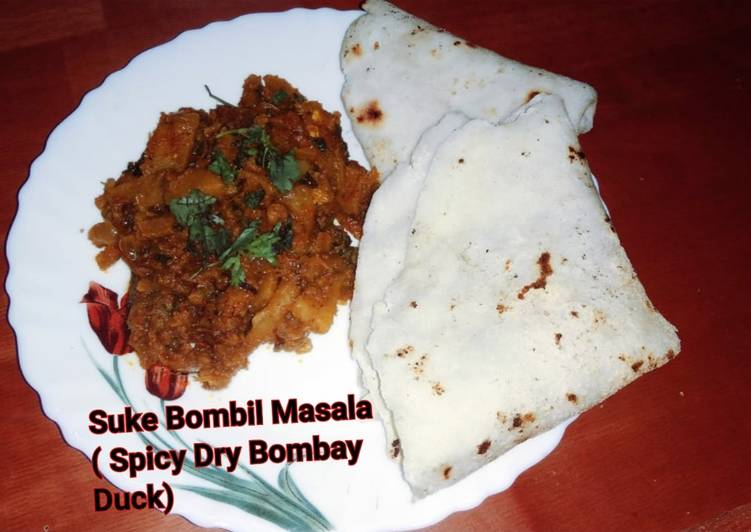 5 Minute Easiest Way to Prepare Quick Suke Bombil Masala Spicy Dry Bombay Duck