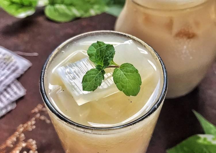 Resep Thai Tea-Nata de Coco, Bisa Manjain Lidah