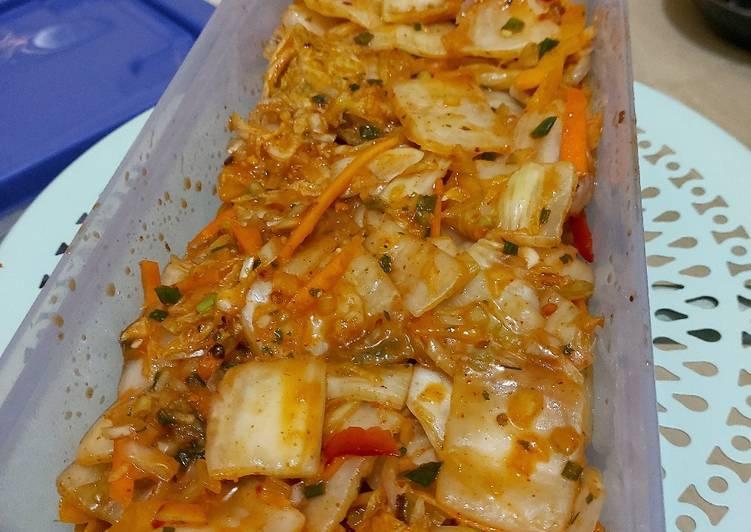Resep Kimchi ala rumahan irit untuk jualan