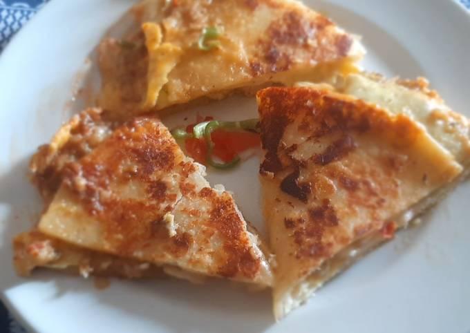 Potato cheese paratha