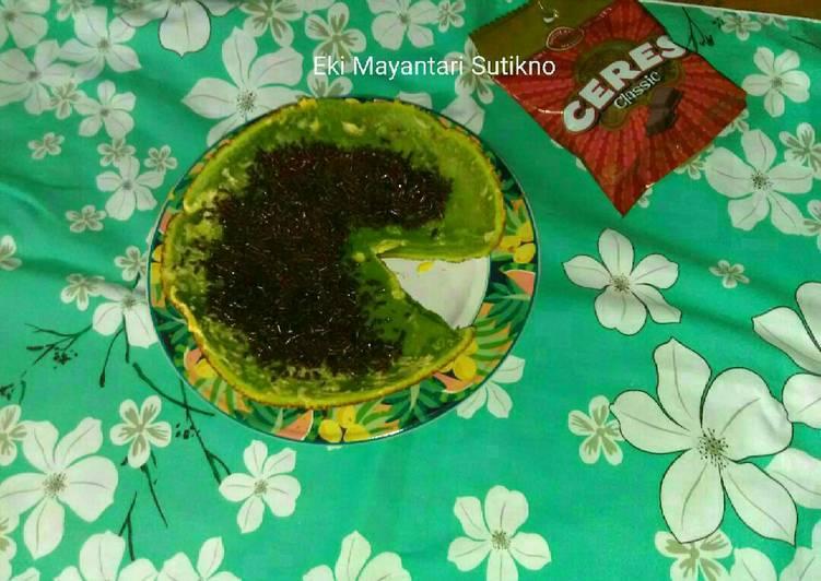 Kue Agar - Agar Teflon (Tanpa Mixer Dengan Blender)