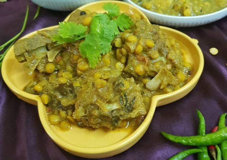 Recipe of Perfect Chana Dal Mangsha