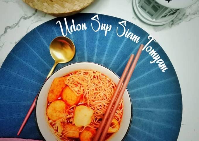 Oden Sup Siam Tomyam Mudah