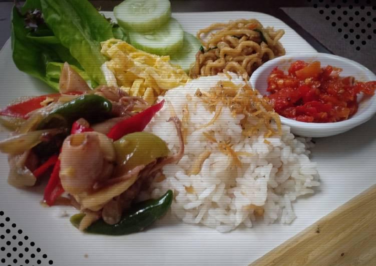 Resep Nasi Liwet Rice Cooker , Lezat Sekali