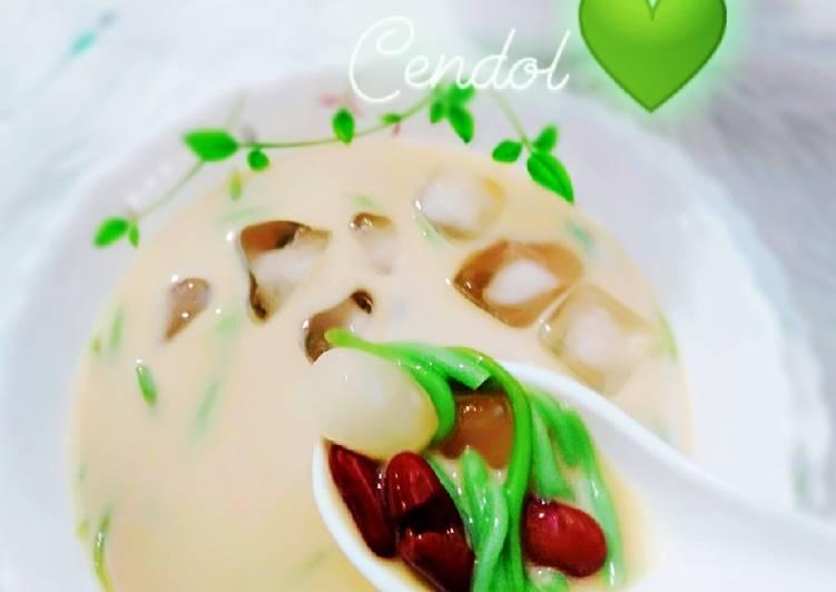 Cendol Kacang Merah - resepipouler.com